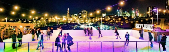 Skylight london ice rink
